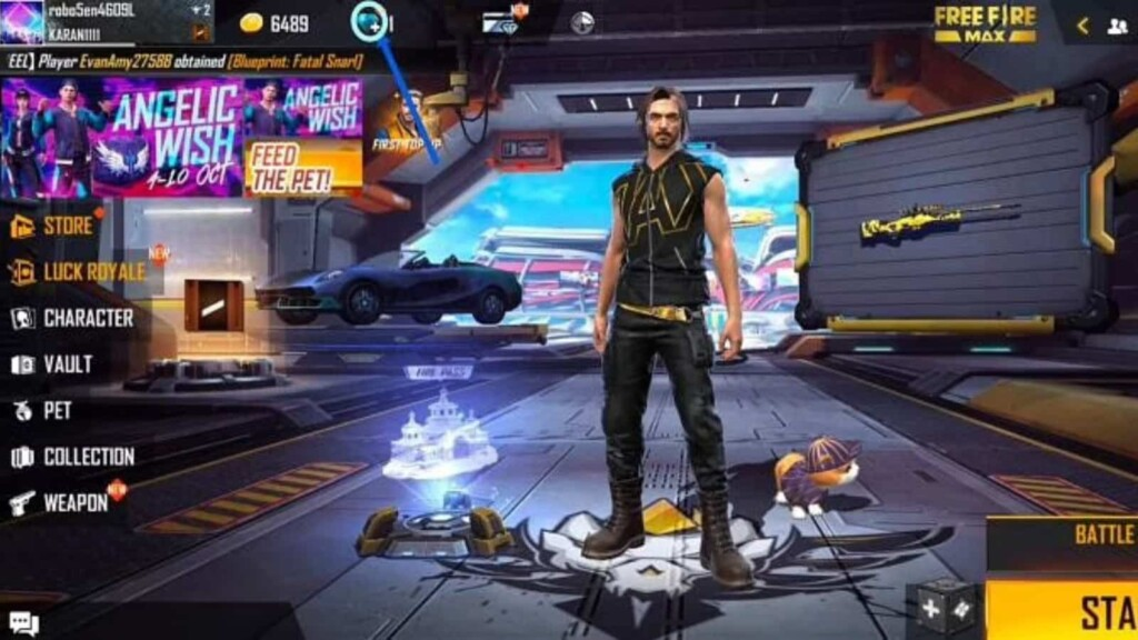 Top-Up Diamonds In Free Fire Max