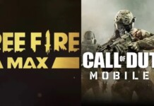 Free Fire Max vs Call Of Duty Mobile
