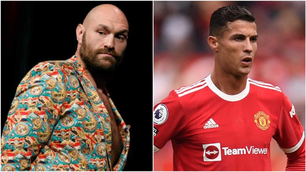 Tyson Fury and Cristiano Ronaldo