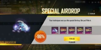 Special Airdrop In Free Fire
