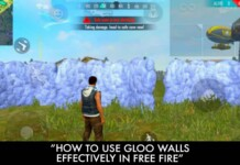 How To Use Gloo Walls Effectively In Free Fire